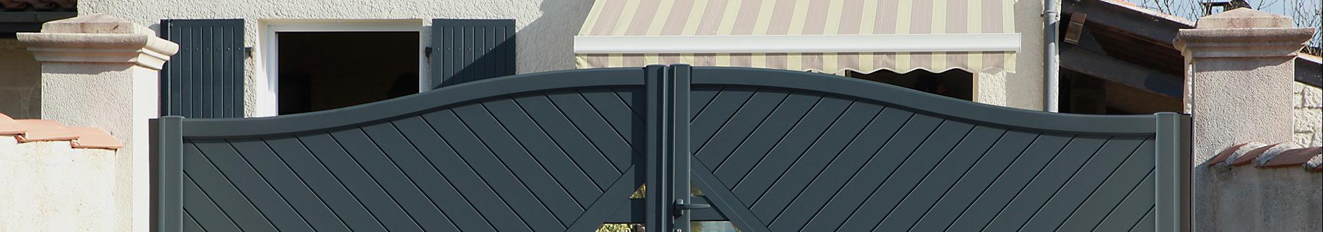 Fabrication et installation de portails sur-mesure à Figeac